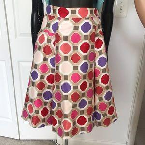 Kate Spade Multicolored Pleated Skirt